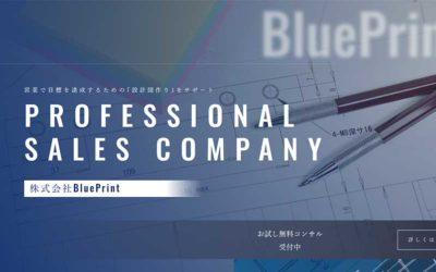 制作事例:株式会社BluePrint様(営業コンサル)